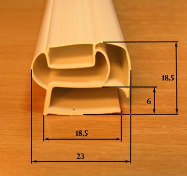 Уплотнительная резина для холодильников Indesit, Ariston, Stinol