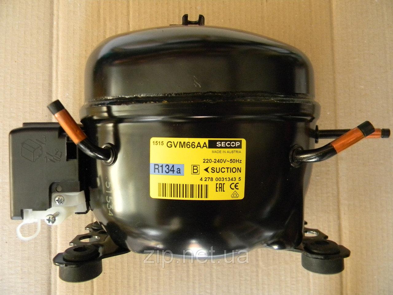 Компрессор для холодильника SECOP GVM 66 AA 181 Вт. R-134a , фото 1